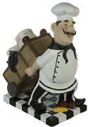 Chef Comical Salt and Pepper Shakers 23 cm